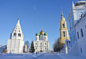 Russian temples — Stock Photo