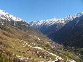 El paisaje en los alpes — Foto de Stock