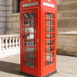 Stock Photo: England call box