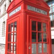 Royalty-Free Stock Photo: London red telephone box