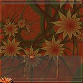 Orange flower background — Stock Photo