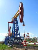 нефтяной насос — Stock Photo