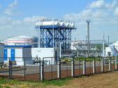 нефтяной завод — Zdjęcie stockowe