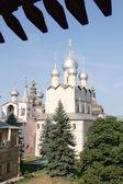 Ancient church in Rostov kremlin — Stockfoto