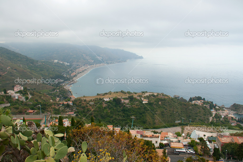 Seaview near Taormina, Sicily, Italy — Stock Photo #8769843