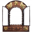 Decorative Wall Mirror with doors — Stock Photo