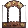 Decorative Wall Mirror with doors — Stock Photo #8233717