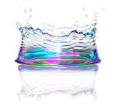 éclaboussure d'eau — Photo