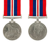1939-1945 Second World War Medal — Stock Photo