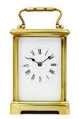 Antique Carriage Clock — Stock Photo