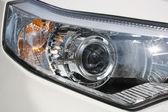 Headlamp car — Stock Photo