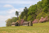 Soldiers Huts at Valley Forge National Park — Stock Photo