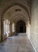 Die galerie der geburtskirche, bethlehem — Stockfoto