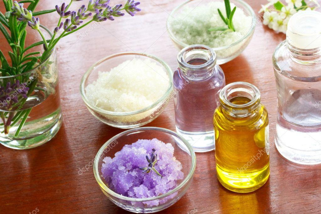 Соль для ванны с маслами своими руками