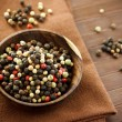 Stock Photo: Colorful rainbow peppercorns