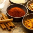 Assortment of spices — Foto de Stock