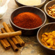 Assortment of spices — Lizenzfreies Foto