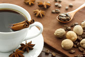 Coffee with spices — 图库照片