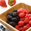 Stock Photo: Assorted fresh berries