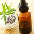 Essential oil dropper bottle — Stock Photo #8312243