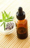 Essential oil dropper bottle — Stock Photo