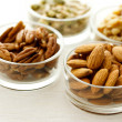 Assortment of nuts — Stock Photo #8380158