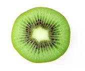 Kiwi Fruit Half — Stock Photo