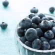 Fresh blueberries — Stock Photo #8422698