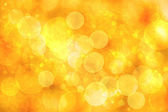 Abstract orange bokeh lights — Photo
