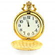Clock - About three minutes until 12 — Stock Photo