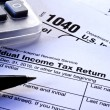 Royalty-Free Stock Photo: Tax Forms