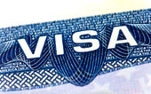United States Visa — Stockfoto