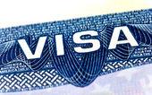 Visa de estados unidos — Foto de Stock