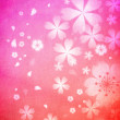 Cherry blossoms background — Stock Photo