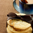 Stock Photo: Cookies and coffee