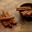 Cinnamon sticks — Foto Stock