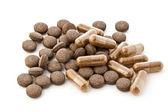 Herbal medicines — Stock Photo