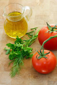 Italian ingredients — Stockfoto