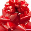 Red gift bows — Stock fotografie