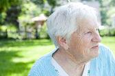 Senior lady — Stockfoto
