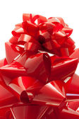 Red gift bows — Stock Photo