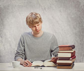 Young Adult Reading — Stock Photo