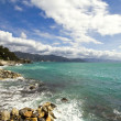 Panoramic seascape near Portofino — Stockfoto