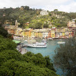 Portofino in springtime — Stock Photo