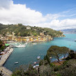 Portofino beautiful seascape — Stock Photo