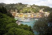 Portofino in springtime — Stock Photo