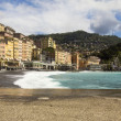 Camogli panorama — Stock Photo