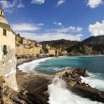 Camogli seascape — Stock Photo