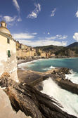 Camogli aerial view — Stock Photo