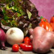 Raw vegetable mix — Foto de Stock